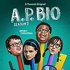 Allisyn Snyder, Jacob Houston, Aparna Brielle, and Eddie Leavy in A.P. Bio (2018)
