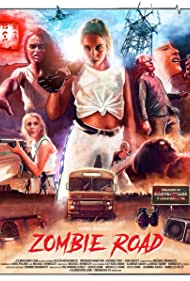 Aileen McGuinness, Brendan Hamilton, Jasmine Port, Erin Hickey, and Grace Quinn Hennessy in Zombie Road (2018)
