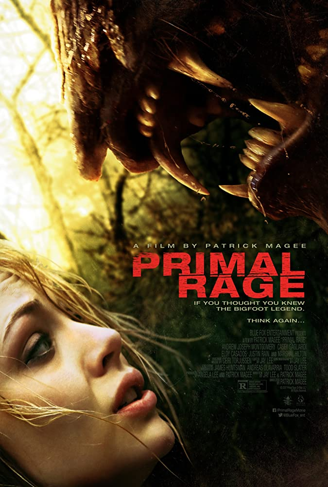 18+ Primal Rage (2018) English 300MB BluRay 480p