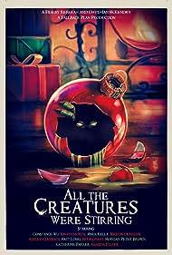Amanda Fuller, Matt Long, Jonathan Kite, Constance Wu, Jocelin Donahue, and Ashley Clements in All the Creatures Were Stirring (2018)