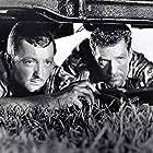 James Mitchum and Hugh O'Brian in Ambush Bay (1966)