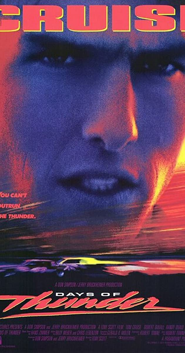 Subtitle of Days of Thunder