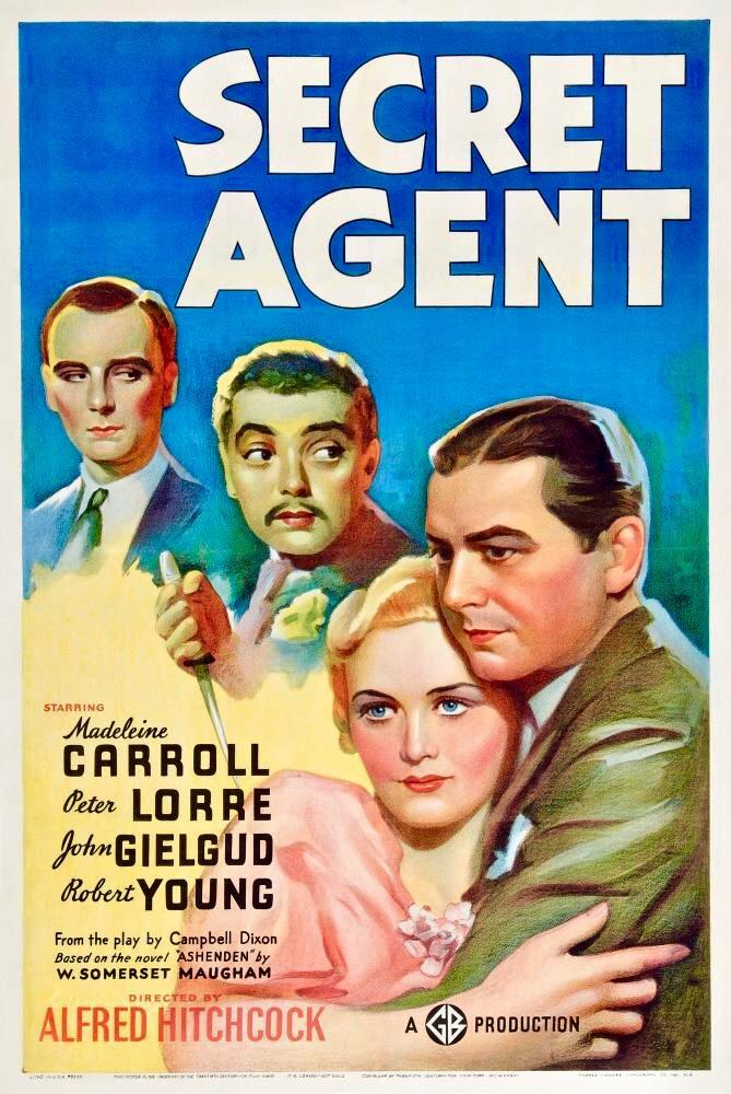 Secret Agent (1936) - IMDb