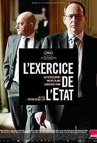 Michel Blanc and Olivier Gourmet in L'exercice de l'État (2011)