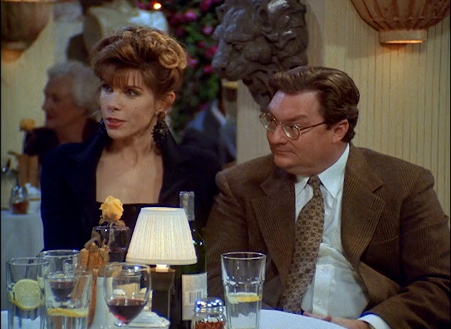 Christine Baranski and Stephen Root in Cybill (1995)