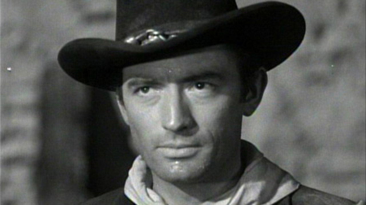 Gregory Peck in Only the Valiant (1951) c814b89a290
