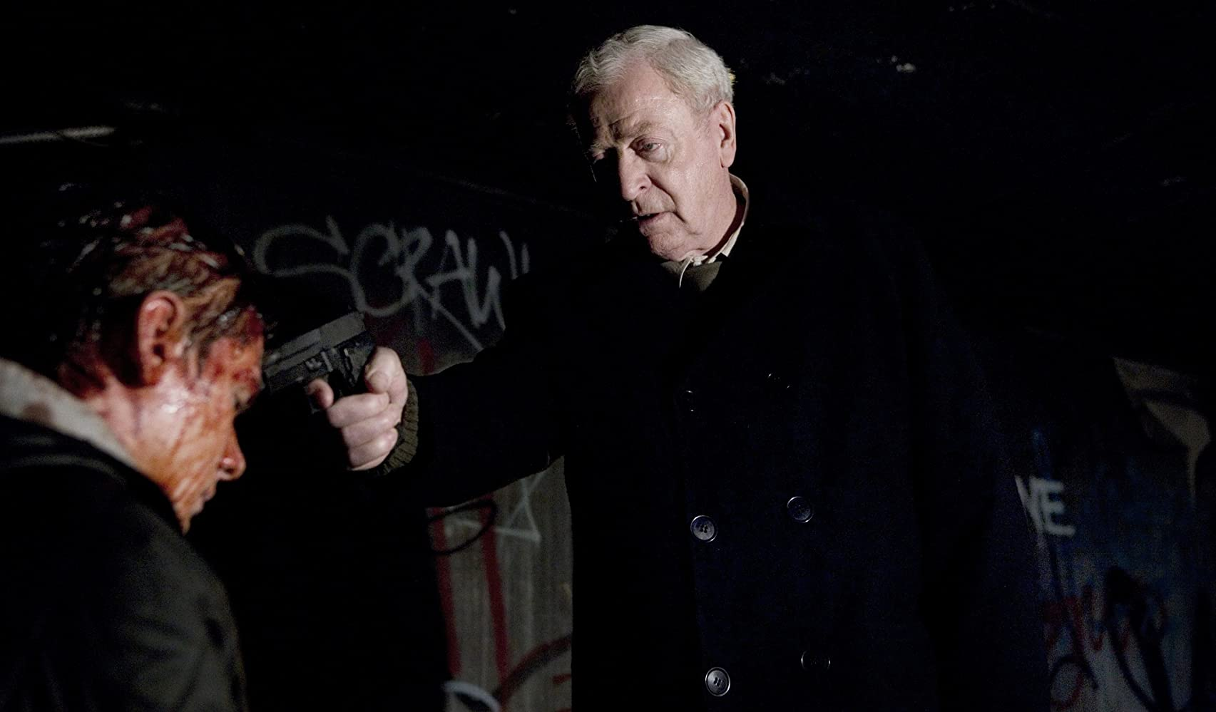 Michael Caine and Jack O'Connell in Harry Brown (2009)