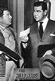 Frank McHugh and Marvin Miller in The Millionaire (1955)