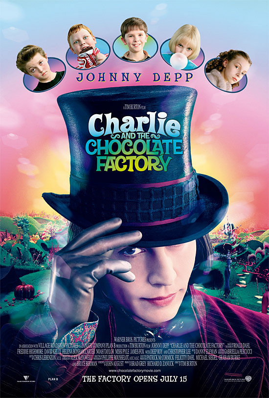 Charlie and the Chocolate Factory 2005 Hindi Dual Audio 400MB BluRay ESubs Download