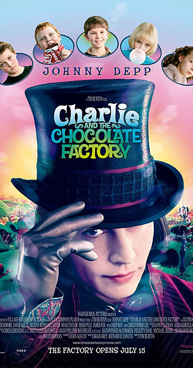 Subtitle of Charlie and the Chocolate Factory