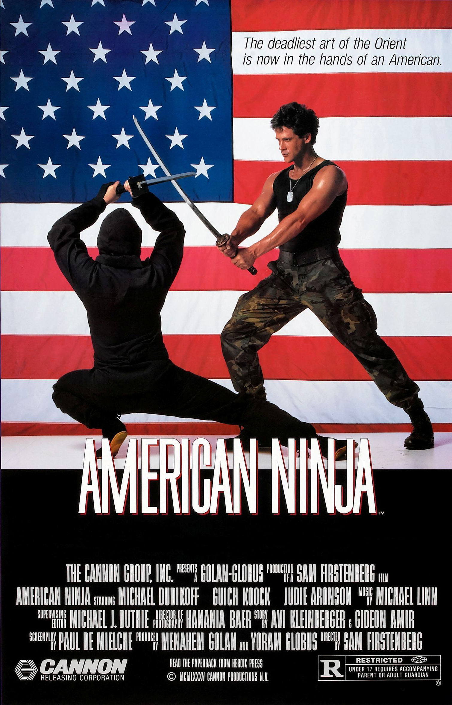 american ninja movie download free