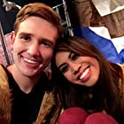 """Behind the scenes on """"The Adopted"""" set w/Ashley Argota."""