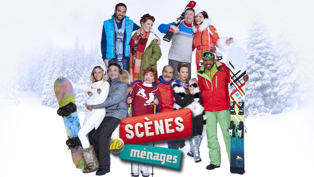 Scènes de ménages: enfin à la montagne