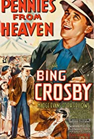 Bing Crosby, Madge Evans, and Edith Fellows in Pennies from Heaven (1936)