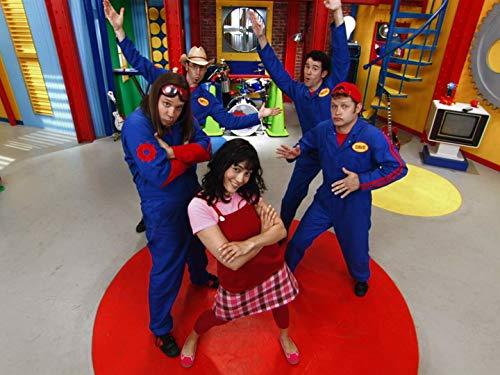Scott Durbin, Wendy Calio, David Poche, Scott Smith, and Rich Collins in Imagination Movers (2008)