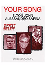 Elton John Feat. Alessandro Safina: Your Song Poster