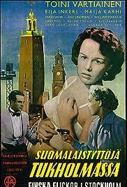 Suomalaistyttöjä Tukholmassa Poster