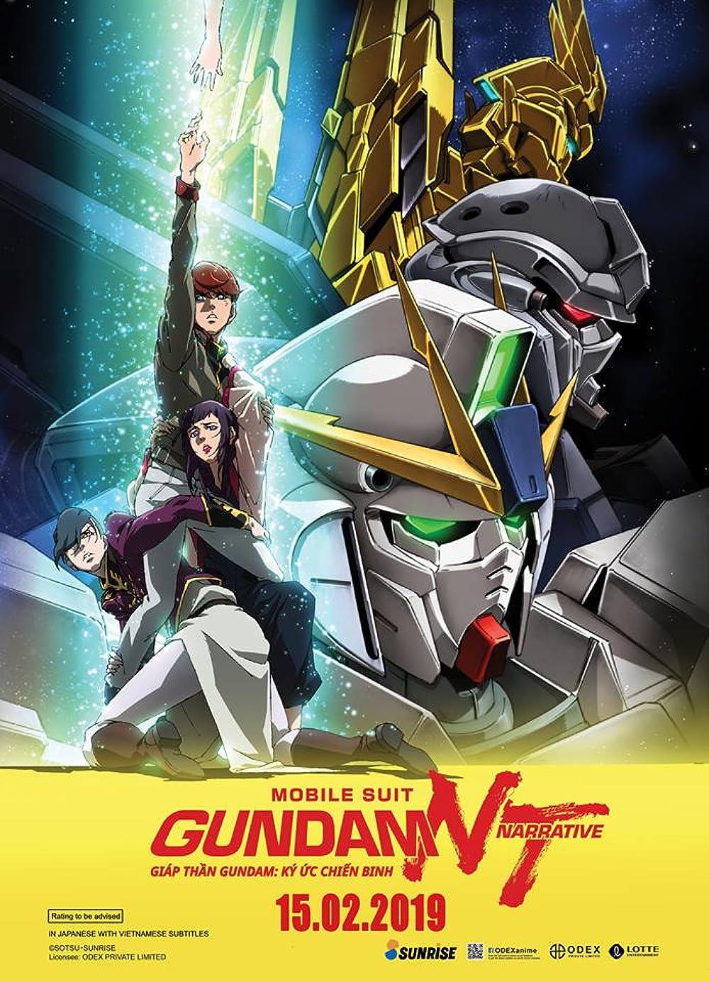 Filmbeschreibung zu Mobile Suit Gundam Hathaway