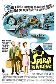 The Spirit Is Willing Poster - Movie Forum, Cast, Reviews