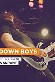 Warrant: Down Boys Poster