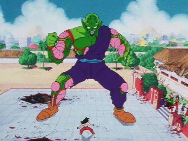 Dragon Ball 1×145 – La técnica de Supergigante de Piccolo Daimaō