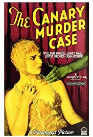 The Canary Murder Case Poster