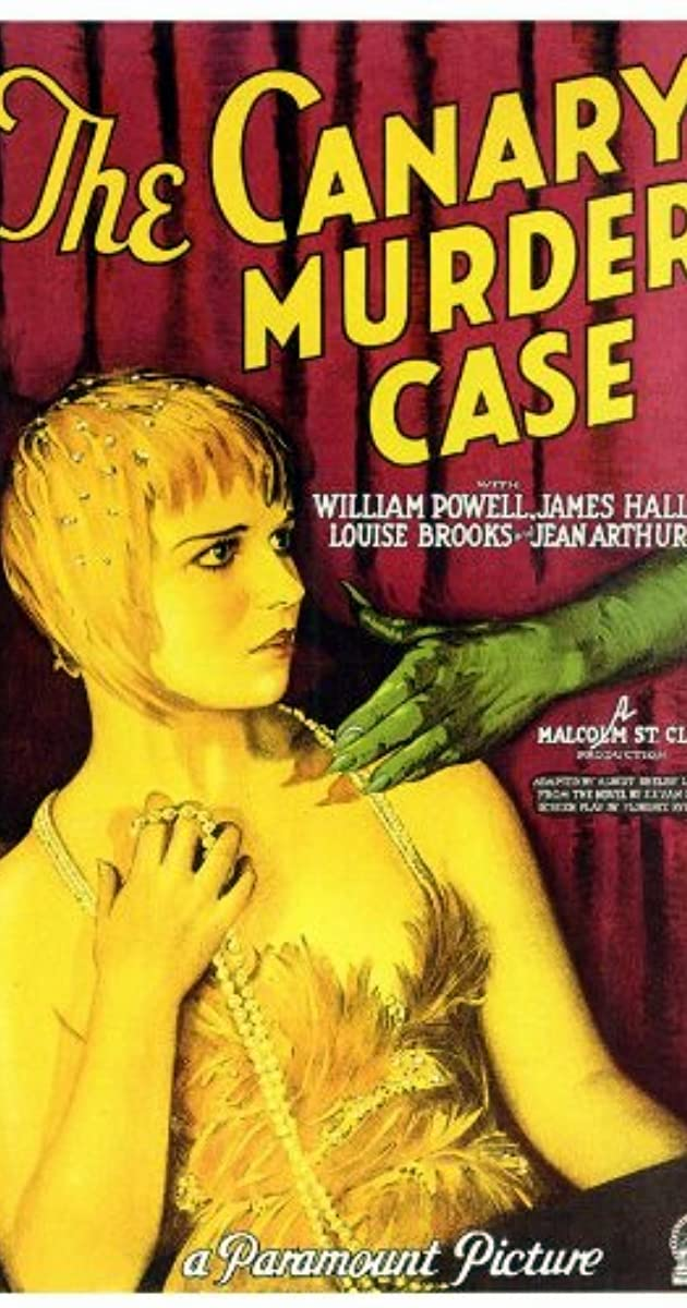 The Canary murder case William Powell movie poster #12