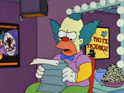 Movies clips free download Krusty Gets Kancelled [WQHD]