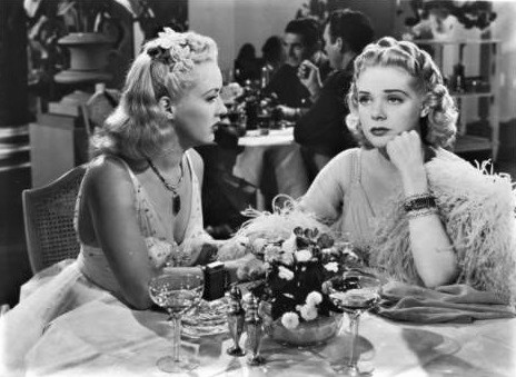 Betty Grable and Alice Faye in Tin Pan Alley (1940)