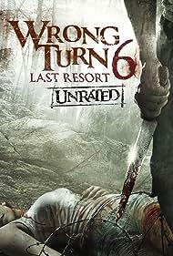 Roxanne Carrion, Talitha Luke-Eardley, and Kicker Robinson in Wrong Turn 6: Last Resort (2014)