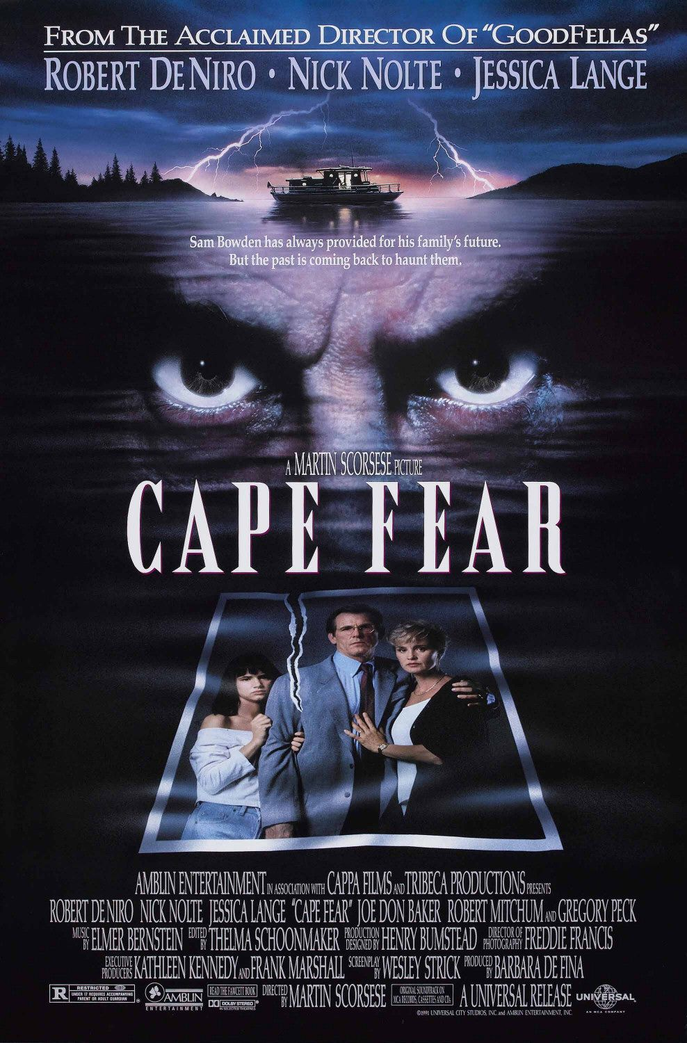 Cape Fear (1991) BluRay 480p, 720p & 1080p