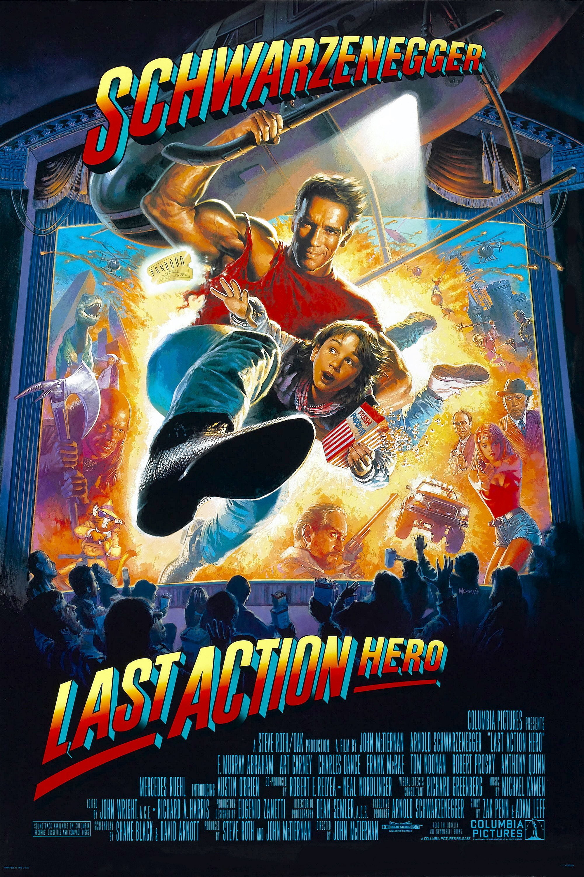 The last hero of the action movie - the most underrated film Schwarzenegger 3