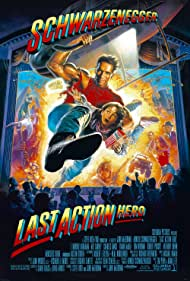 Arnold Schwarzenegger and Austin O'Brien in Last Action Hero (1993)