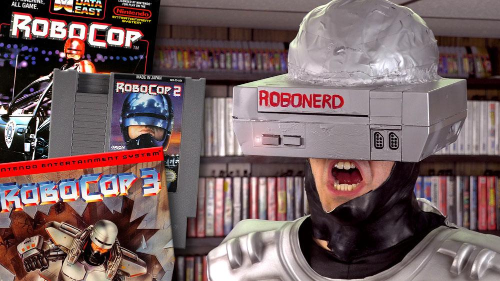 The Angry Video Game Nerd Robocop Games Tv Episode 2017 Imdb