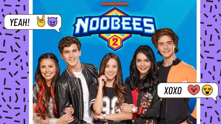 Pipe Arcila, Carlos Baez, Julian Beltran, Natalia Castañeda, Lion Bagnis, and Sharon Guzman in Noobees (2018)
