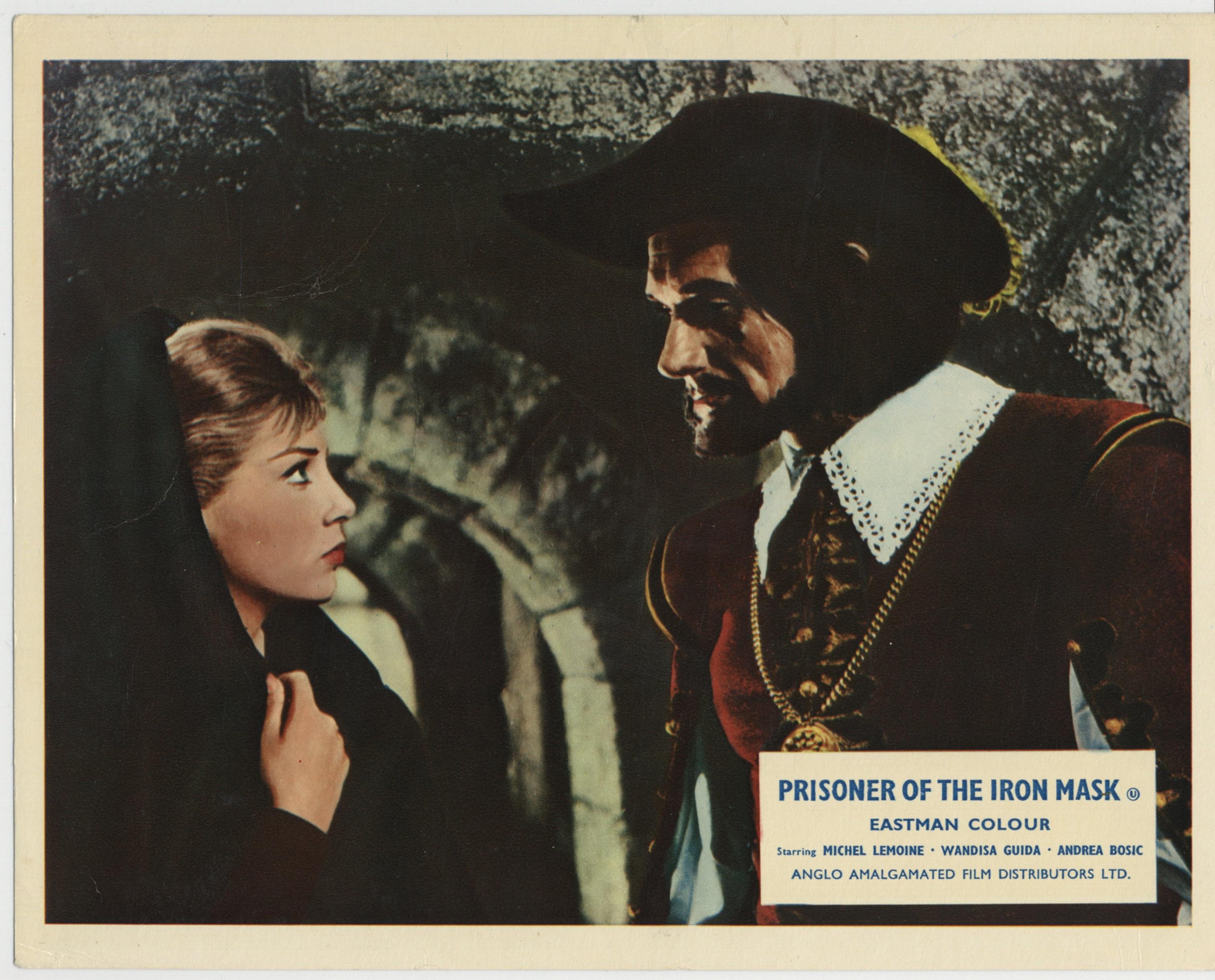 Wandisa Guida in La vendetta della maschera di ferro (1961)