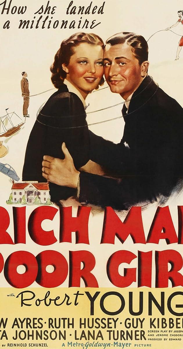 Rich Man Poor Girl 1938 Imdb