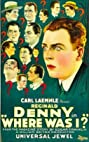 Where Was I? (1925) Poster