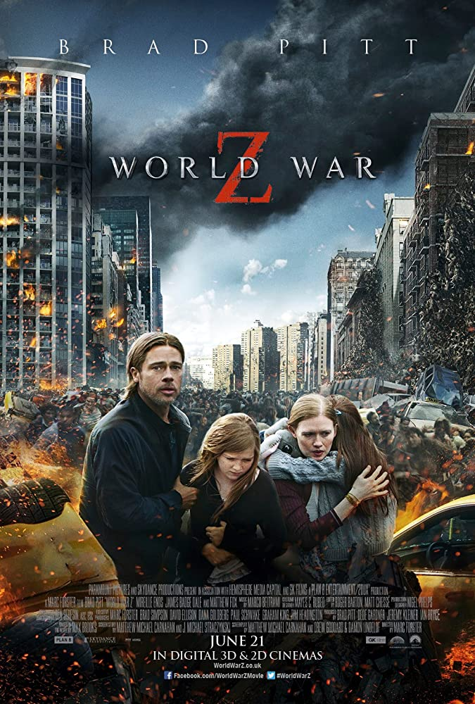 World War Z (2013) Subtitle Indonesia