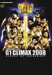 NJPW G1 Climax Heroes of Supremacy (2008)