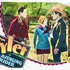 Florence Allen, Al Ferguson, and Tom Tyler in The Avenging Rider (1928)