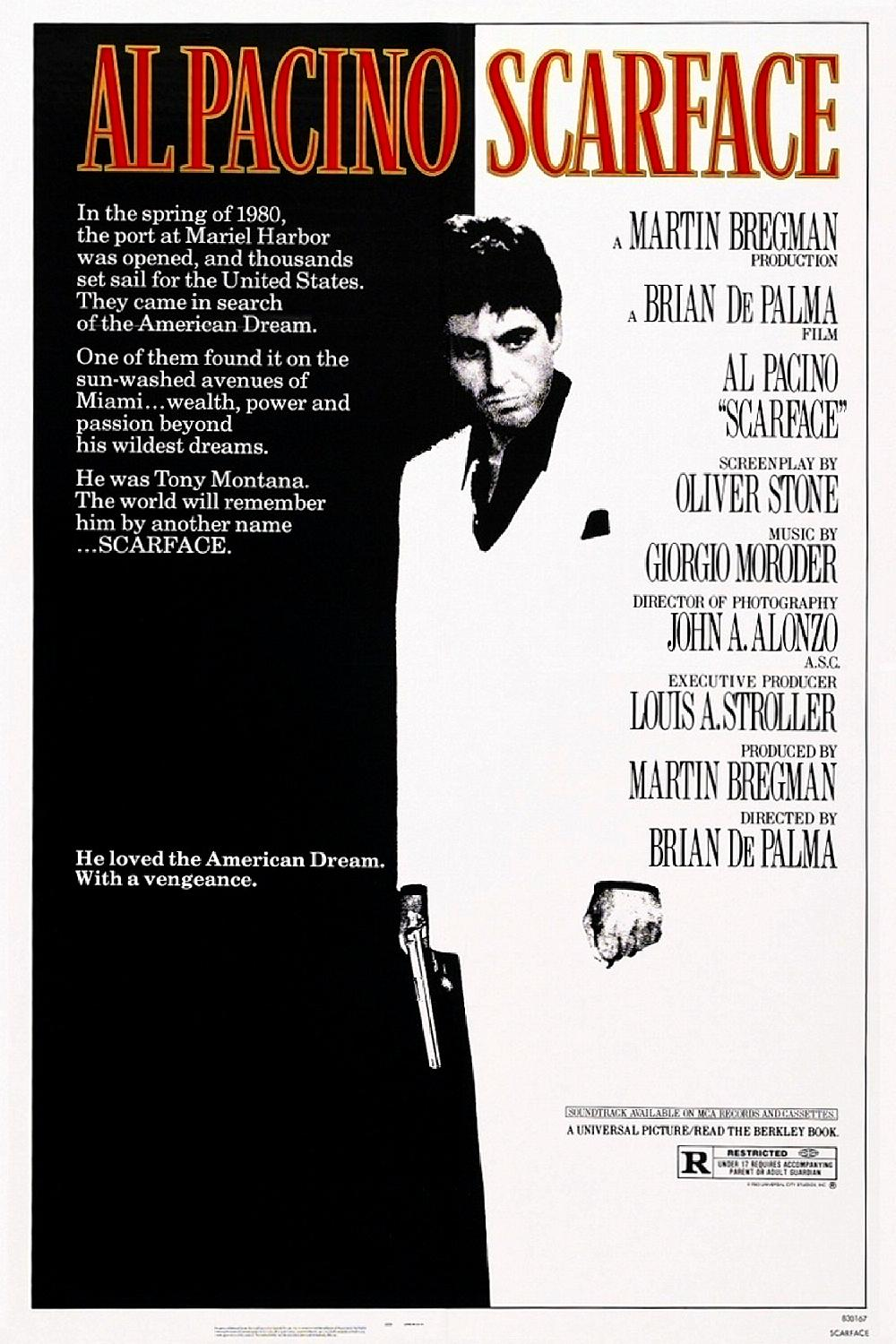 Scarface (1983) BluRay 720p & 1080p
