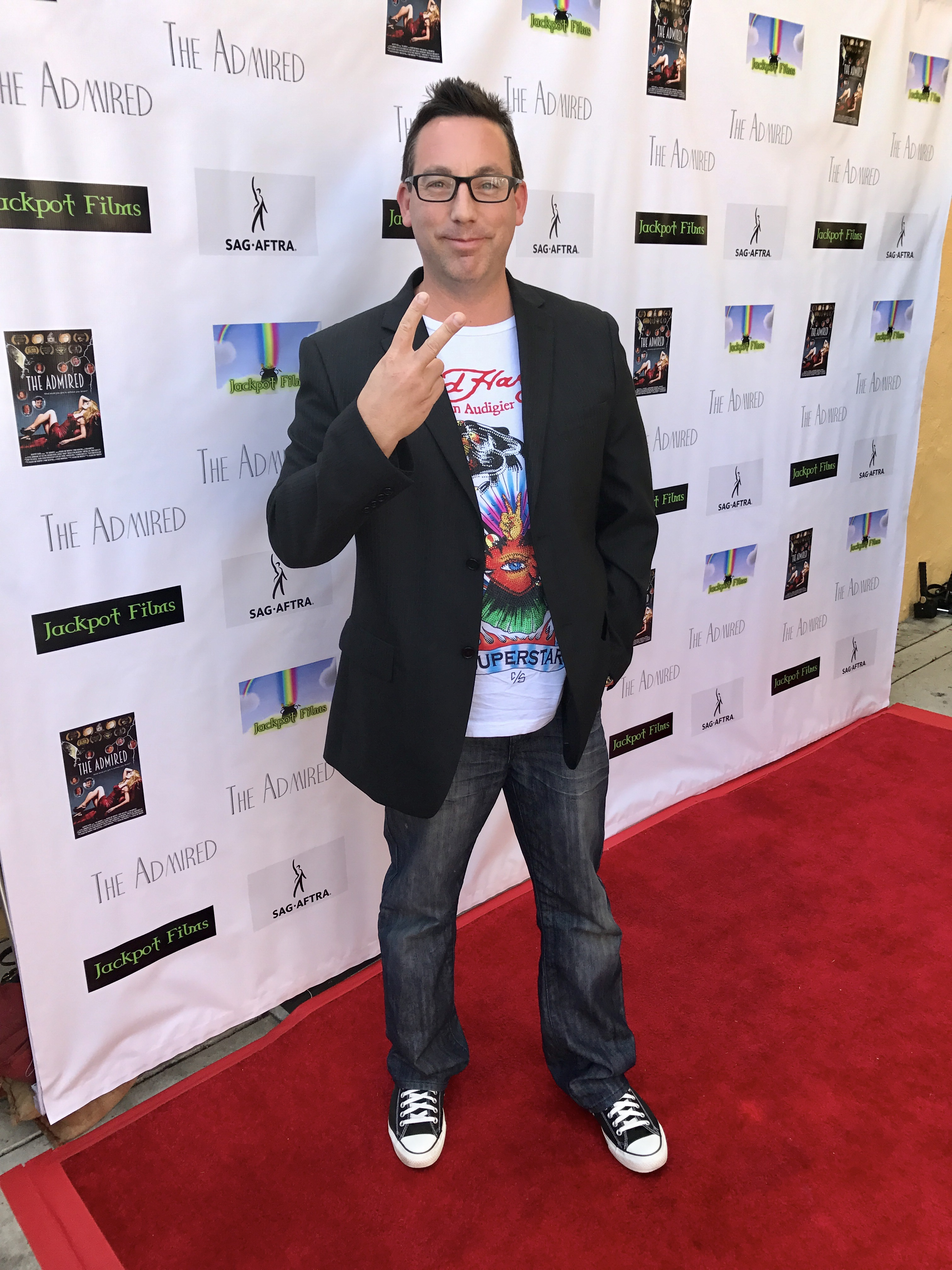Mike Breyer attends the red carpet screening of The Admired at Raleigh Studios.  Mike plays Rhett Dabler.  04-22-2017