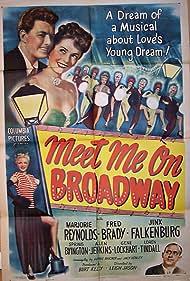 Frederick Brady, Jinx Falkenburg, Allen Jenkins, Marjorie Reynolds, and Nita Berber in Meet Me on Broadway (1946)