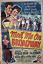 Meet Me on Broadway (1946) Poster