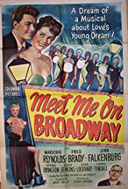 Meet Me on Broadway Poster