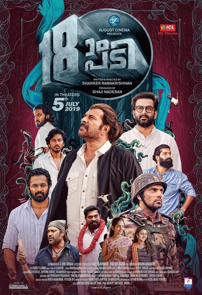 Pathinettam Padi 2019 Malayalam 720p Proper HDRip 1.5GB ESub Download