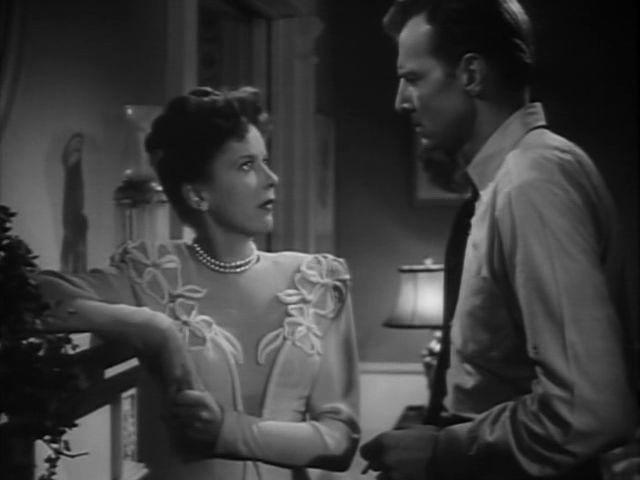 Bruce Bennett and Ida Lupino in The Man I Love (1946)