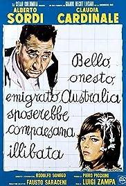 A Girl in Australia Poster