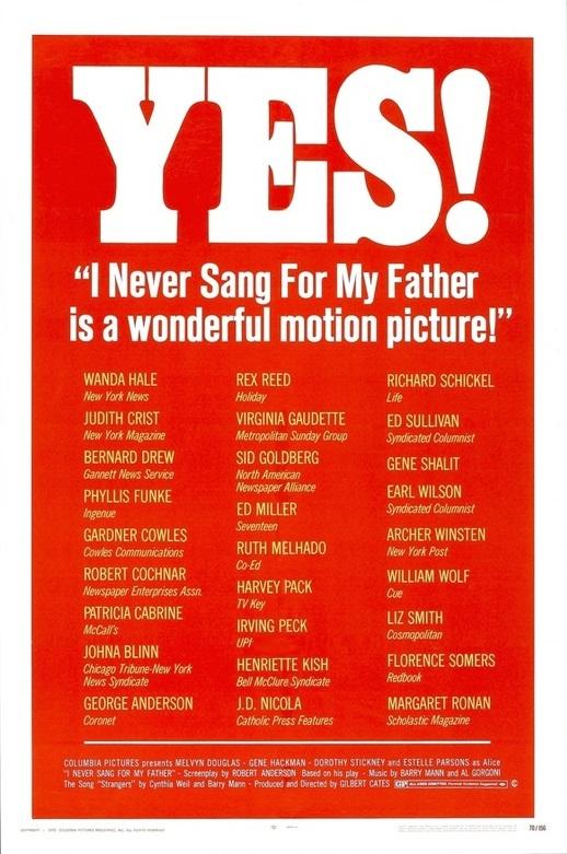 I Never Sang for My Father (1970) - IMDb